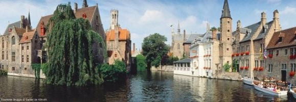 Charming hotels in Bruges