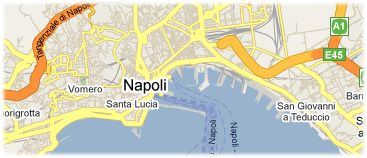 Hotels in Naples on the map