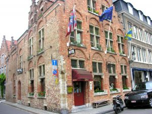 Hotel Salvators in Bruges