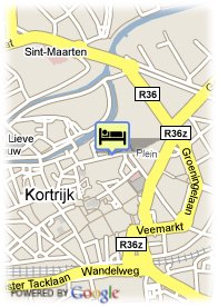 map-Hotel Messeyne