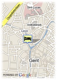 map-Hotel Gravensteen