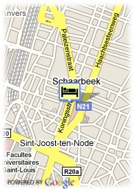 map-Royotel Brussels
