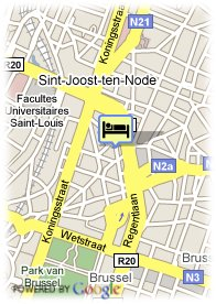 map-Hotel Sabina
