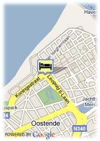 map-Ramada Ostend