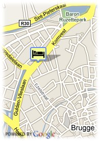 map-Hotel Gulden Vlies