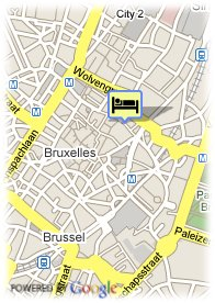 map-Scandic Grand Place