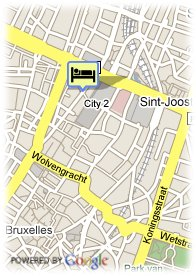 map-Hotel Plaza Brussels