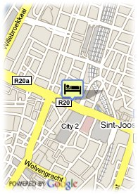 map-Sheraton Brussels Hotel