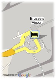 map-Sheraton Brussels Airport
