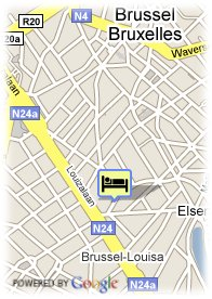 map-Four Points by Sheraton