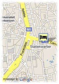 map-All Seasons Antwerpen City Center