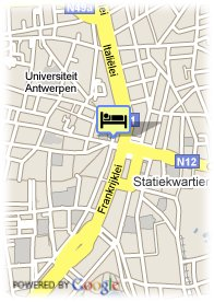 map-Hotel Mercure Antwerpen Centrum Opera