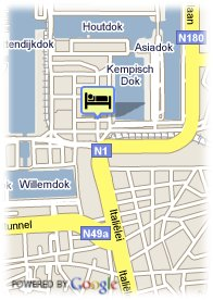 map-Best Western Hotel Docklands