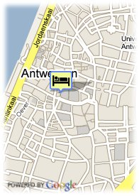 map-Hilton Antwerp