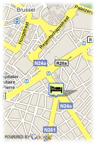 map-NH Brussels City Centre