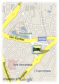 map-Plaza Hotel Antwerp