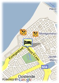 map-Hotel Ter Streep