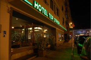 Hotel Ter Streep in Ostend
