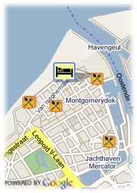 map-Hotel Acces