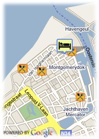 map-Ostend Hotel