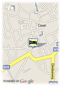 map-Hotel Verlooy