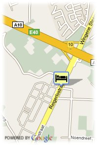 map-Hostellerie Ten Lande