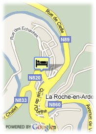 map-Hotel Le Luxembourg La Provence
