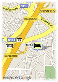 map-City Inn Hotel
