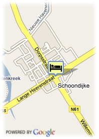 map-Hotel Restaurant De Zwaan