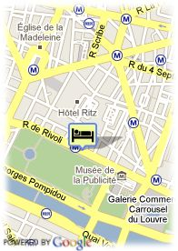 map-Grand Hôtel du Palais Royal