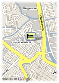 map-Hotel Restaurant Stad en Land