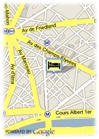 map-Hotel Chateau Frontenac