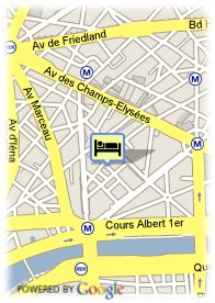 map-Hotel Franklin Roosevelt