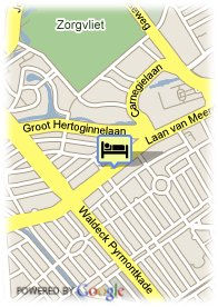 map-Hampshire Hotel - 108 Meerdervoort