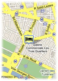 map-Best Western Premier Opera Richepanse Paris
