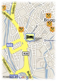 map-Hotel Leopold