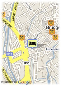 map-B&B In Bruges