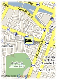 map-Hotel Jardin de l'Odeon