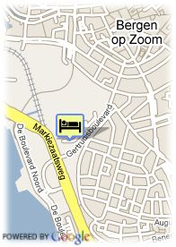 map-Stadspark Wellness Hotel Bergen op Zoom