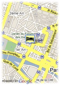 map-Tonic Hotel Louvre