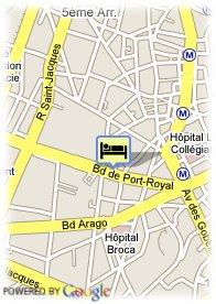 map-The Five Hotel