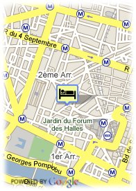 map-Hotel Louvre Forum