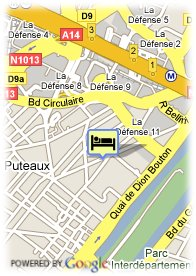 map-Hotel le Dauphin