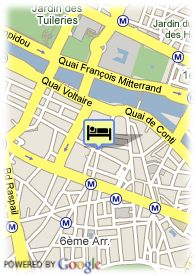 map-Hotel La Villa Saint Germain