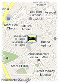 map-Riad Assala
