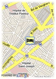 map-Le Fabe Hotel