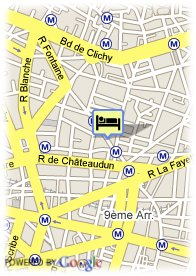 map-Hotel France Albion