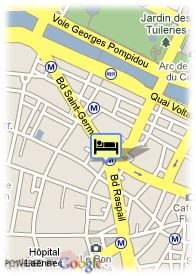 map-Hotel Bac Saint Germain