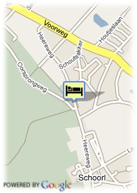 map-Maxima Hotels Jan Van Scorel