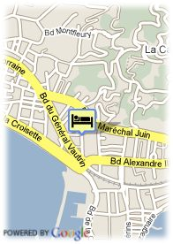 map-Cannes Palace Hotel